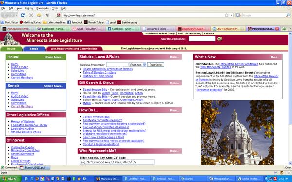 Website DPR Minnesota