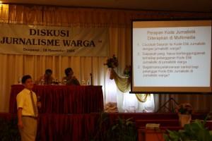 Diskusi Jurnalisme Warga Dewan Pers