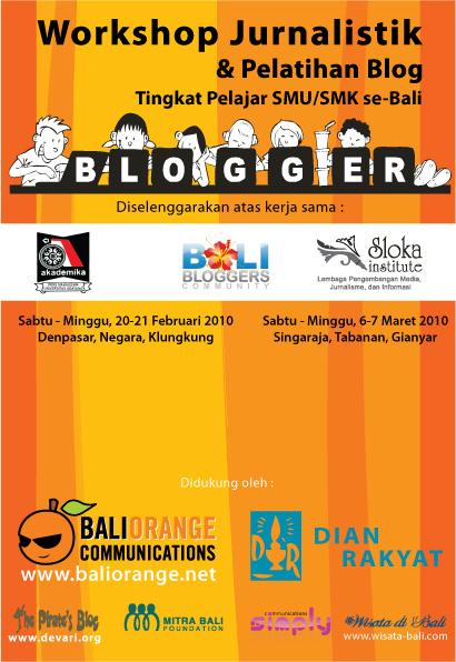 Banner Pelatihan Blog Pelajar SMA/SMK se-Bali