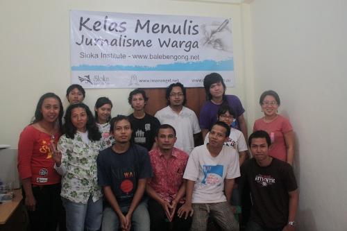 Kelas Jurnalisme Warga Sloka Institute Bali