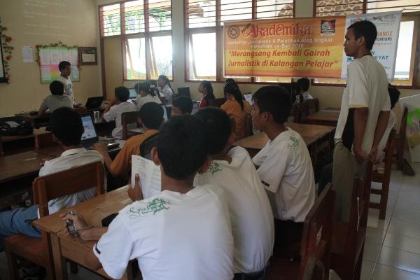 Pelatihan Blog Pelajar se-Bali