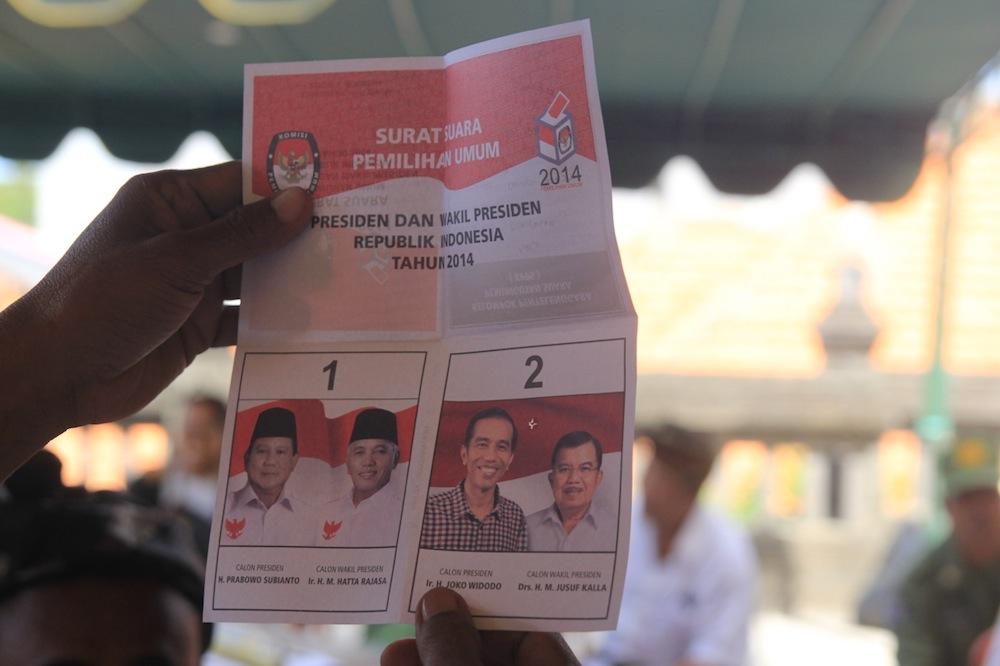 Coblos Jokowi