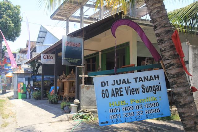 Maraknya iklan promosi jual tanah di Bali