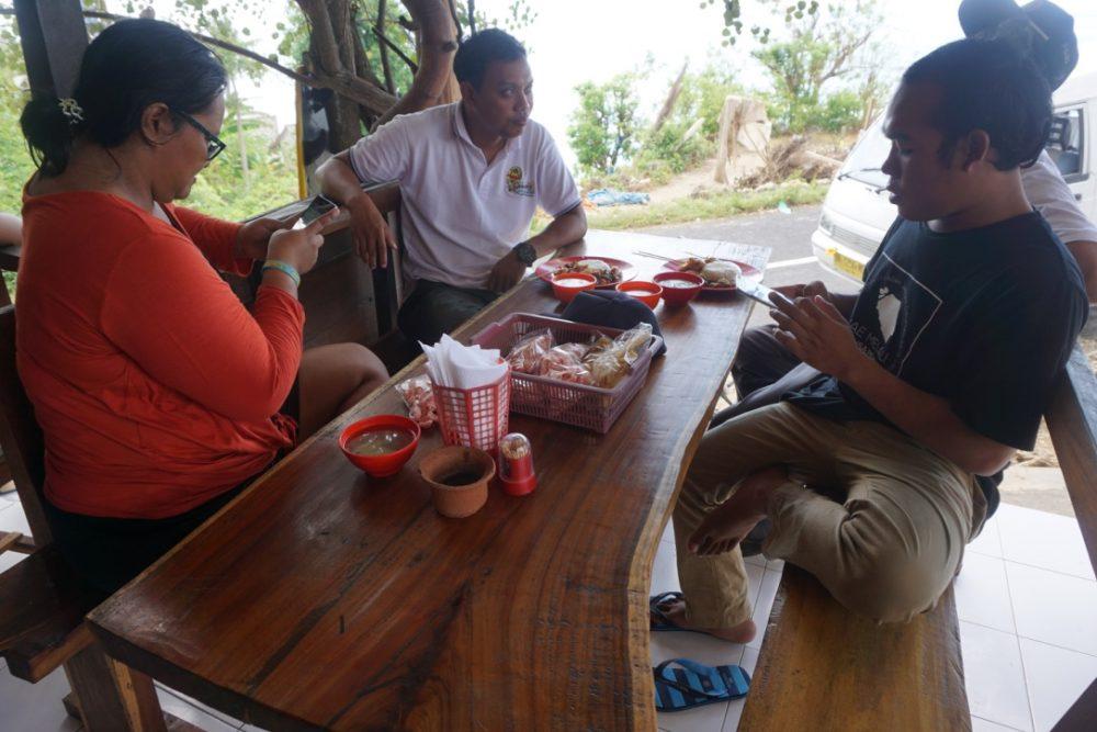 Ngorta di Nusa Penida