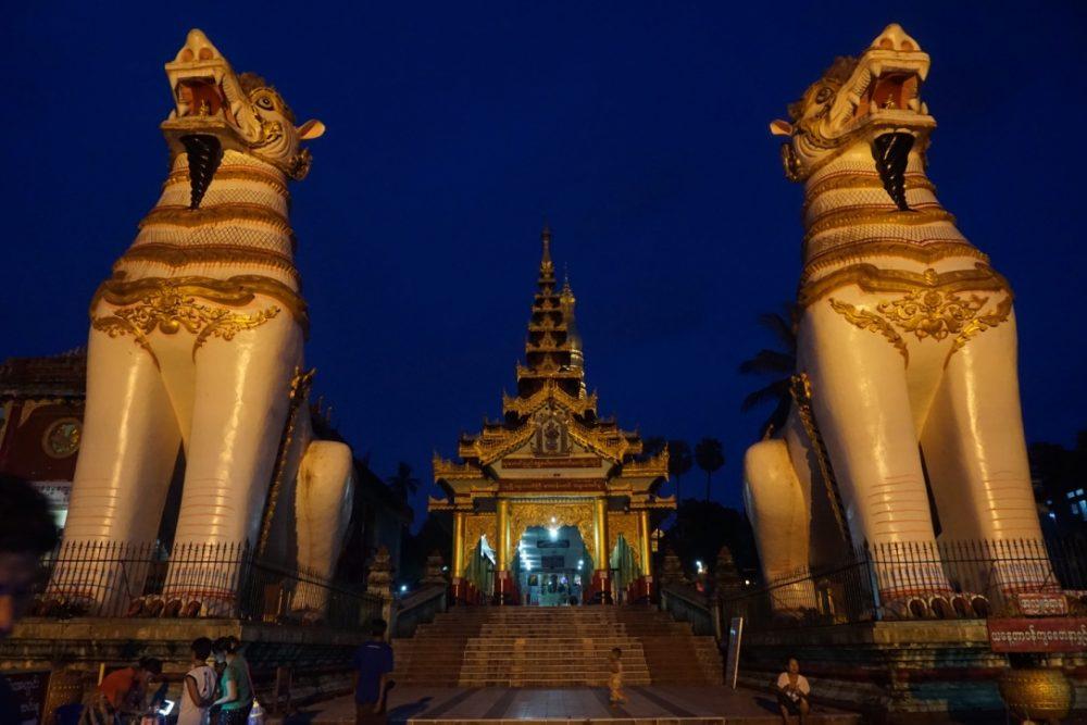 Pagoda in Bago, Myanmar